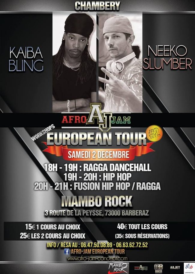 Flyer Stage Ragga & Hip Hop